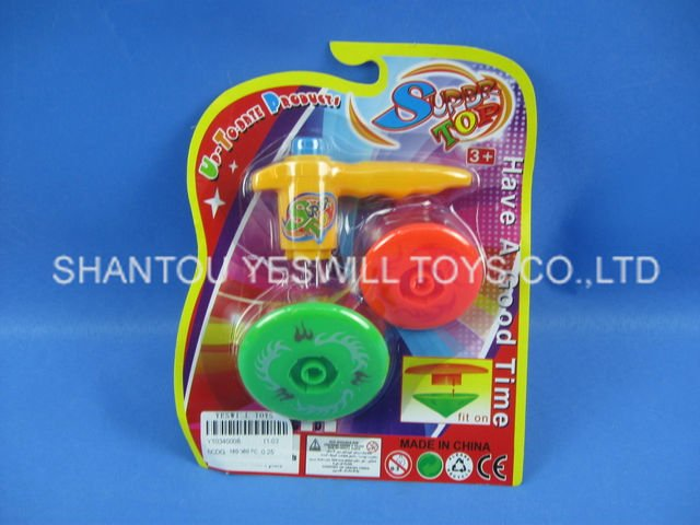 wind up spinning top toys flying plate toys ,promotion toys