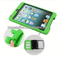 silicone pc case for ipad mini New Design Combo Case Soft Silicone PC Case Cover for Apple iPad Air