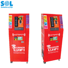 Cell Mobile Phone Charging Kiosk Terminal Vending Machine