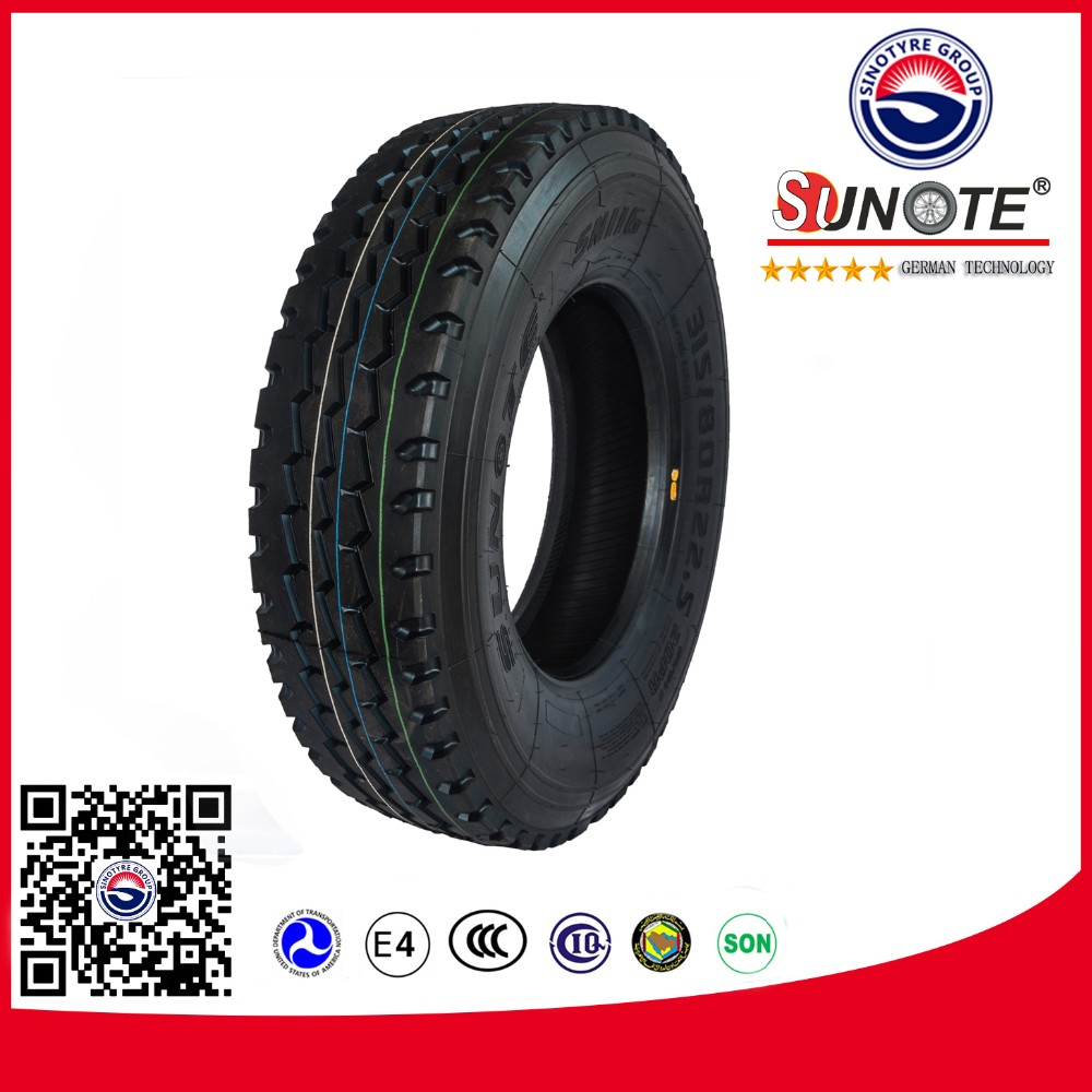 radial truck tyre 1000-20 performance tire and wheel