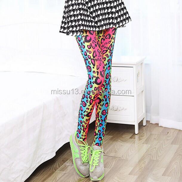 2014 new design women printed leggings