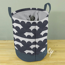 Foldable Heart Laundry Basket Housekeeper Laundry Bag
