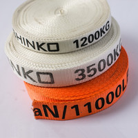Woven polyester packing straps, woven PET strap for bundling caogo