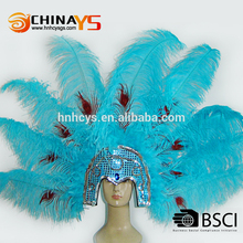New arrival carnival feather headdress With Professional Technical Support