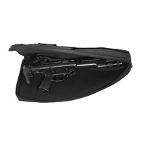 new design soft tactical gun case pistol holster with equipment pocket