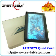 Import Cheap Goods From China 10.1inch ATM7029 Quad Core Android Tablet