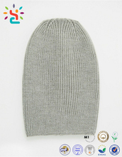 Custom Wholesale Plain Beanie Knit Ski Turkish Cap Hat Warm Winter Running Blank Cashmere Wool Slouchy Beanie Hats