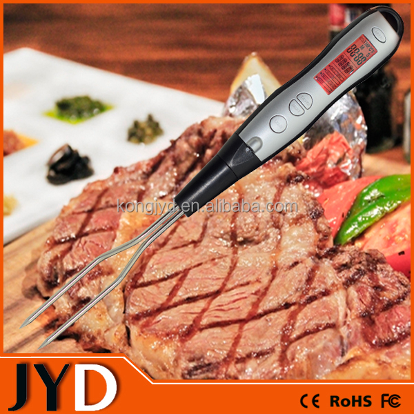 JYD DTF12B Easy Temperature Reading In All Enviroments Digital Kitchen Thermometer With Fahrenheit And Celsius Reading Options