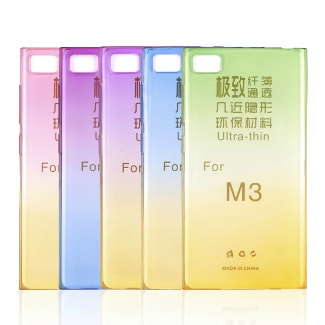 Genuine Gradient Color TPU Soft Case for Xiaomi M3