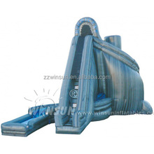 Commercial durable adults large heavy duty double sided inflatable spiral water slide