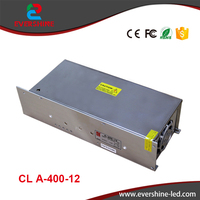 chuanglian 12V 33A 400W AC/DC single output switching power supply for led display