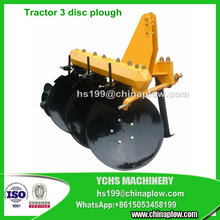 Agricultural mounted disc plough 3 point hitch plow tractor disk plow