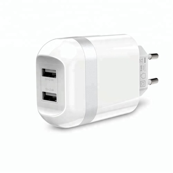 iFans Dual Port 2.4A Output travel charger USB Wall Charger