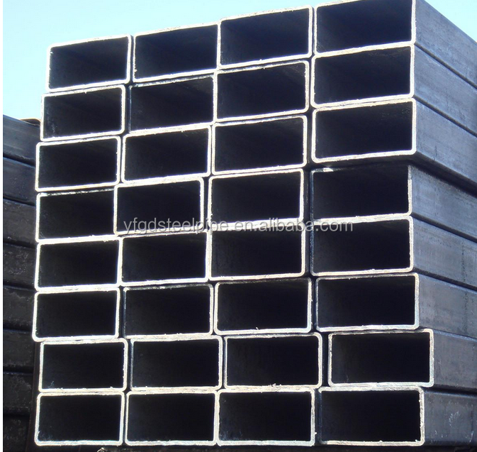 stkr400 galvanized steel square and rectangular tube/hollow section