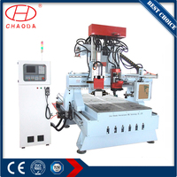JCT1632R-2H 3 Axis Woodworking CNC Router for Drilling Milling