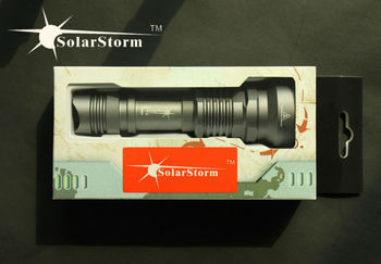 Hot sale high quality Solarstorm SP01 rechargeable xml u2 waterproof torch