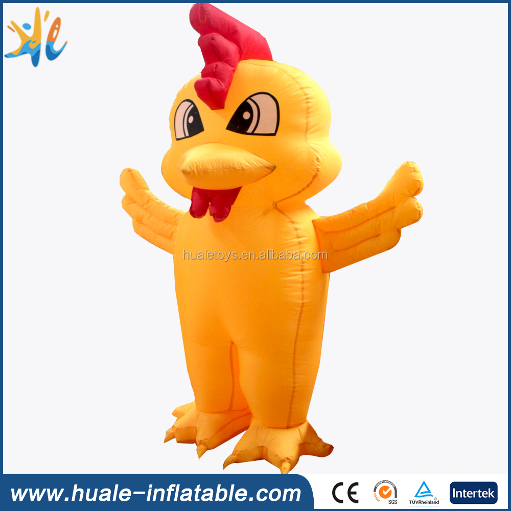 Advertising inflatable chicken model, inflatable model for sale