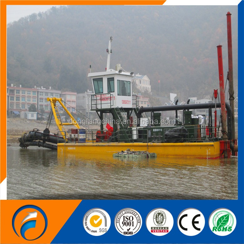 Good quality of dredger price