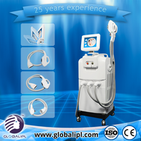 Alibaba express faster hair remove ipl e-light rf machine hair removal and wrinkle