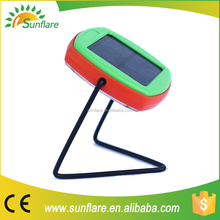 solar powered reading lamp with 5 years lifespan battery