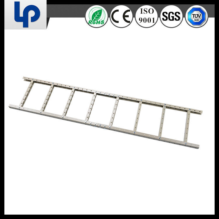 high quality galvanized aluminum cable ladder tray size with SGS Rohs