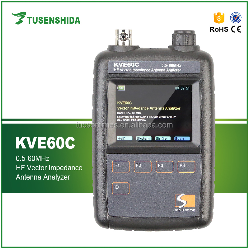 Shortware Antenna Analyzer KVE-60C SWR Meter for HF KVE 60C Analyzer