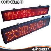 2014 Hot New Innovative Red Super Bright Led Moving Message Sign/board/adversiting P10 Indoor Led Display/screen Module