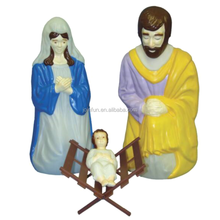 Make custom design plastic toy nativity figures,OEM make pvc plastic nativity figure toys