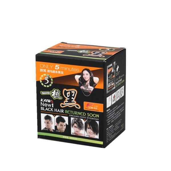 henn naturel coloration des cheveux 25 mlsachet un lavage noir shampooing - Shampoing Colorant Naturel