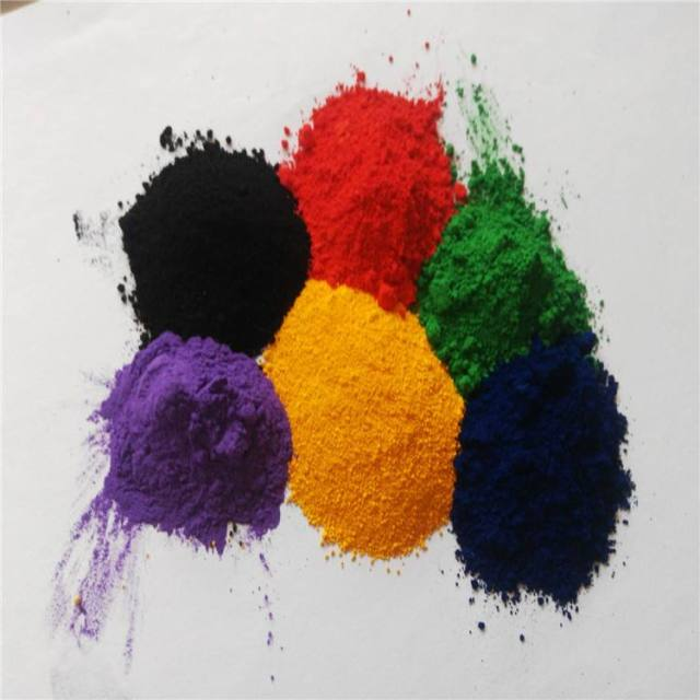 epoxy mica iron oxide paint synthetic iron red/yellow/black pigment powder