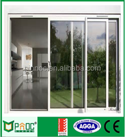 Aluminium Doors And Sliding Door With Drawing Made In China PNOC0001SLD