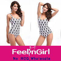 New design sexy lady cut out one piece swimsuit pictures