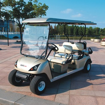 CE Certificated electric golf cart 6 person DG-C4+2