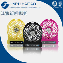 Rechargeable mini fan portable usb fan with strong wind