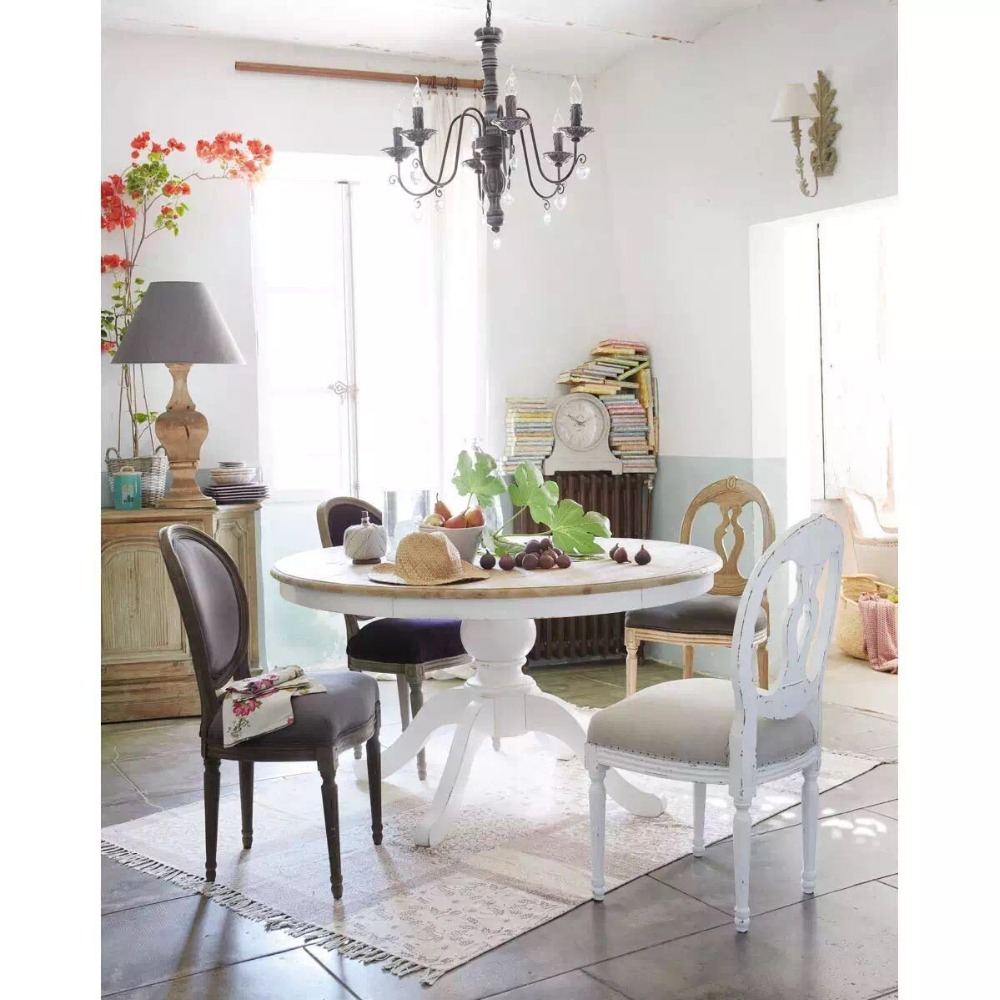 D128-150 italian style luxury dinning table set dining room furniture set