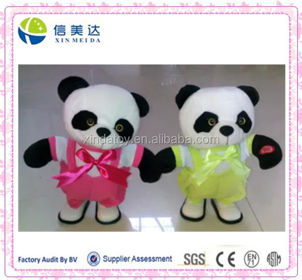 Plush Electronic Dance Walking Panda stuffed toy
