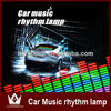 5-Color Change Flashing Car Sticker Music Rhythm LED EL Sheet Light Lamp Sound Equalizer Car Windows Sticker