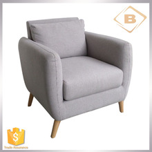 New Design Modern Fabric single Sofa