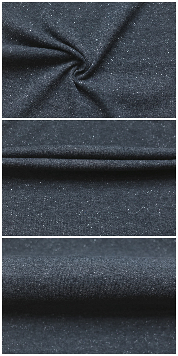 High Quality Terry Cloth Fabric Wholesale Shiny Polyester Cotton Terry Fabric