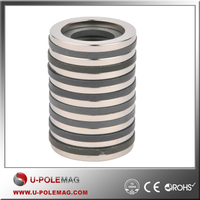 Customized Shape Magnet Ring NdFeB N35/ D50xID20x10mm Ring Magnets /Permanent Magnets Axial