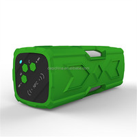 2016 New Products portable Waterproof Ipx4 Dustproof Shockproof Bluetooth Speaker with NFC and Power Bank Function