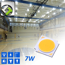 Taiwan Luster 7W Epistar Chip COB LED Cool White