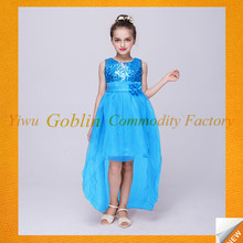 GBJY-770 2017 Trending Products Frock Design Birthday Dress For Girl Of 7 Years Old Designer One Piece Party Dress