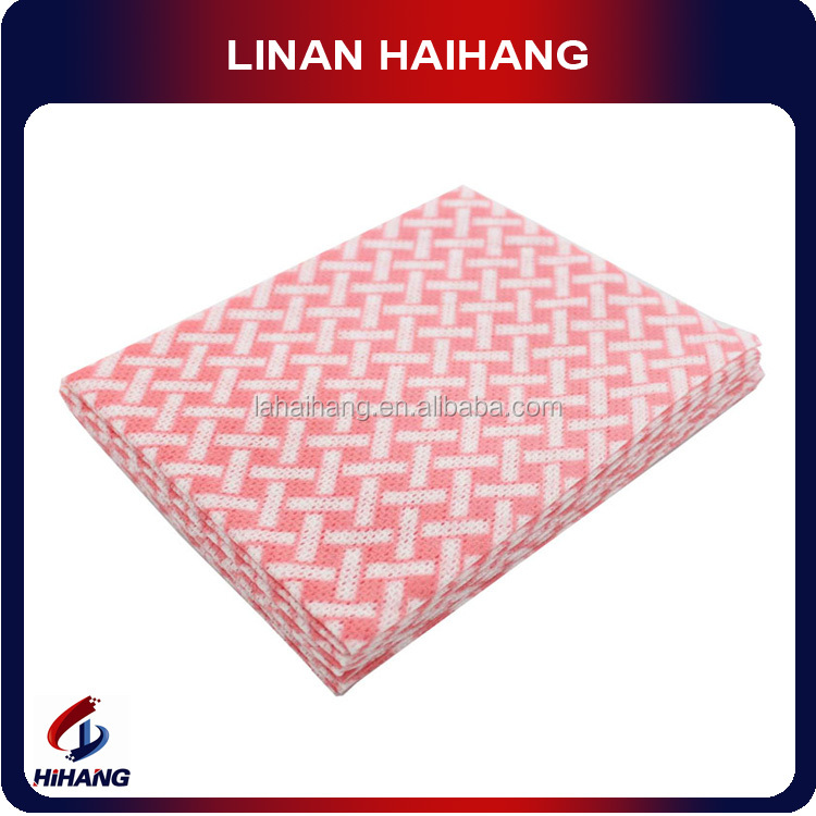 High quality cheap kitchen towel nonwoven fabric disposable towel wipe and clean books
