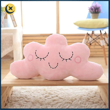 Factory supplier beautiful lovely cloud star moon shape custom sofa cushion