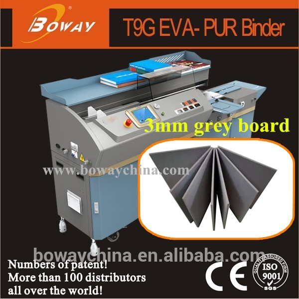 2015 BOWAY 2 in 1 EVA PUR glue machine for photo album