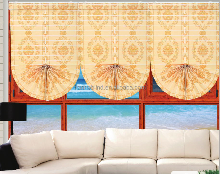 High quality new style blackout uv resistant roman blinds
