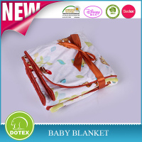 SEDEX BSCI Certificate Factory Free Sample Marino Wool Baby Cot Blankets Microplush Baby Blanket Scottish Blanket
