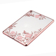 Wholesale Soft silicone Diamond Butterfly flower tablet case For iPad mini 2 3 4 Air1 Pro 9.7 12.9
