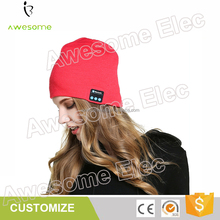 Winter bluetooth hats headphones, bluetooth hat speaker, wireless earphones bluetooth Music Cap